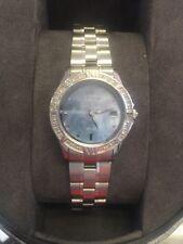 EW1710-56Y Citizen Women's Eco-Drive Elektra Watch Blue MOP Dial Diamond Bezel