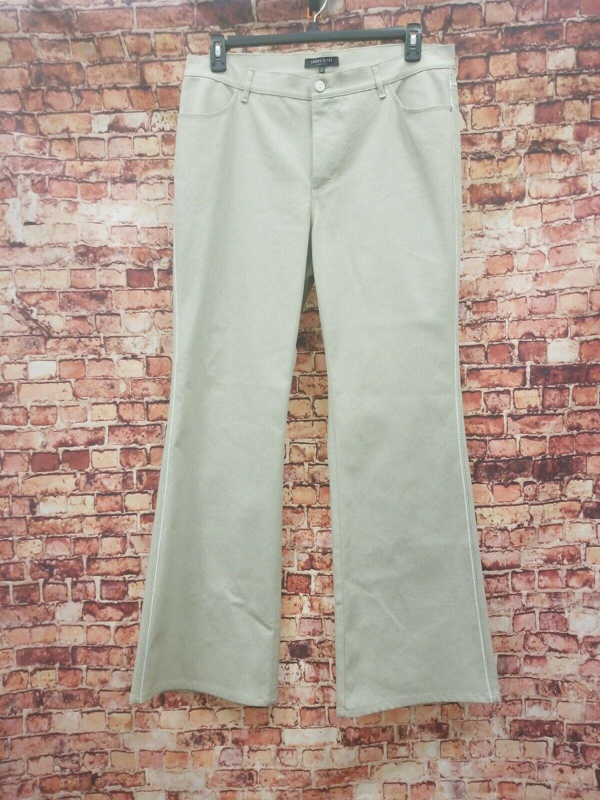 Lafayette 148 Biege Pants Size 14