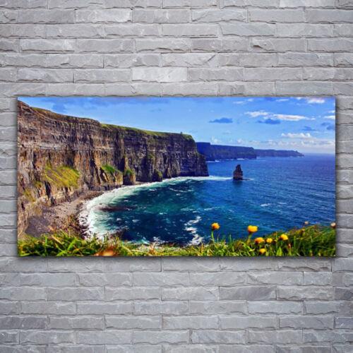 Wandbilder Glasbilder Druck auf Glas 120x60 Meerbusen Landschaft