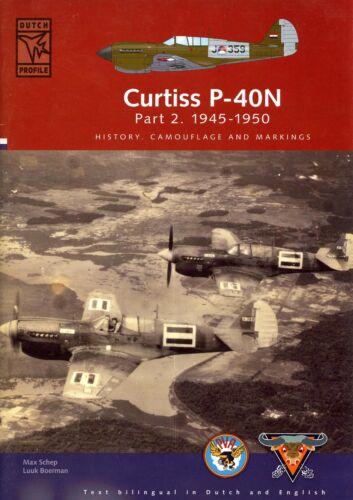 Dutch Profile Books CURTISS P-40N Part 2 1945-1950