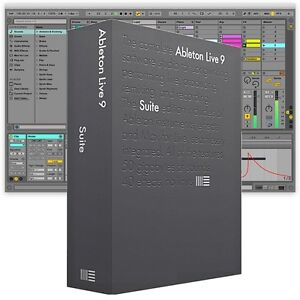 Ableton live 9 upgrade from lite to suite music software download 9 7 ebay - Ableton live lite free download ...