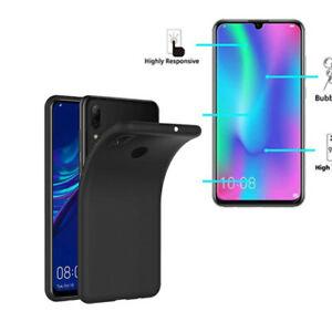 Pour Huawei P Smart 2019 - Pack Étui arrière Coque Housse / verre trempé