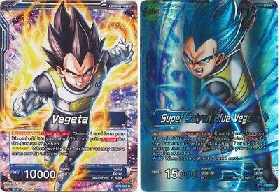 Dragon Ball Super Card Game Super Saiyan Blue Vegeta BT1-028 R