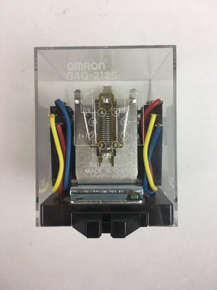 1PCS New Omron relay G4Q-212S 220VAC