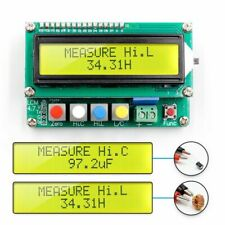 Lcd Capacitance Meter Inductance Lc Frequency Tester Electronics Accessories New