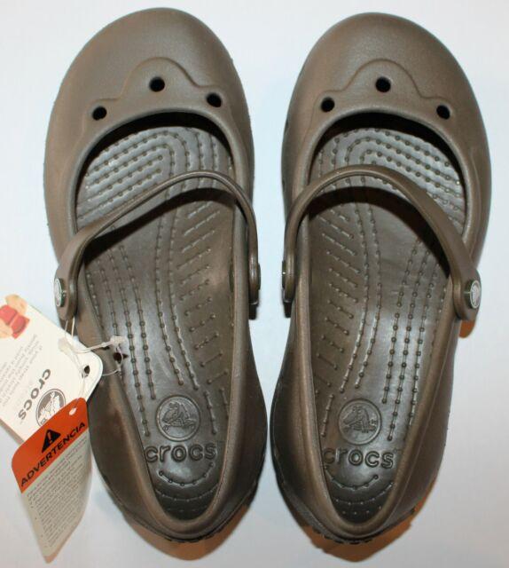 SALE Ladies crocs chocolate Slip on  ALICE