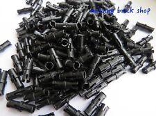 LEGO 6558 NEW Technic Orange 3L Friction Pin W Ridge /& Stop Bush  10 Per Order