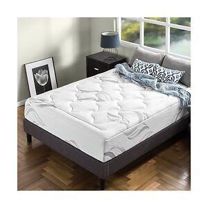 zinus memory foam 12 inch premium ultra plush cloud like mattress queen 742657359970 ebay. Black Bedroom Furniture Sets. Home Design Ideas