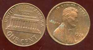 Usa One Cent 1974 Ebay
