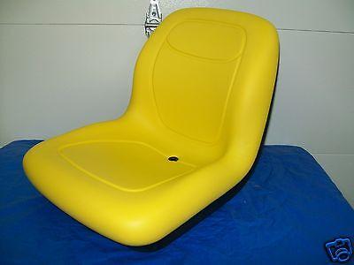 YELLOW SEAT FITS JOHN DEERE COMPACT TRACTORS 2305 2320,2520 2720  JD #LO