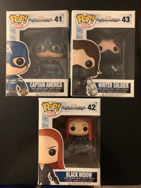 Captain America Movie 2 Soldier Unmask Action Figure Funko POP Heroes