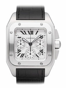 54b4698149b Cartier Santos W20090X8 Wrist Watch for Men for sale online
