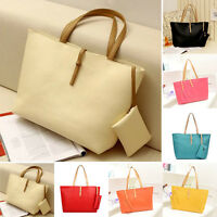 Womens Stylish Handbag Shoulder Bag Tote Purse PU Messenger Hobo Bag 7 Color❤❤