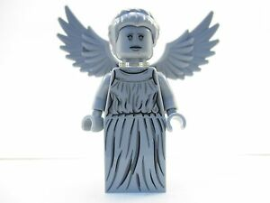 lego doctor who weeping angel statue minifigure 21304 mini