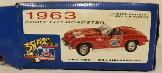 35th Anniversary Big A Auto Parts 1963 Corvette Roadster 6398 For Sale Online Ebay