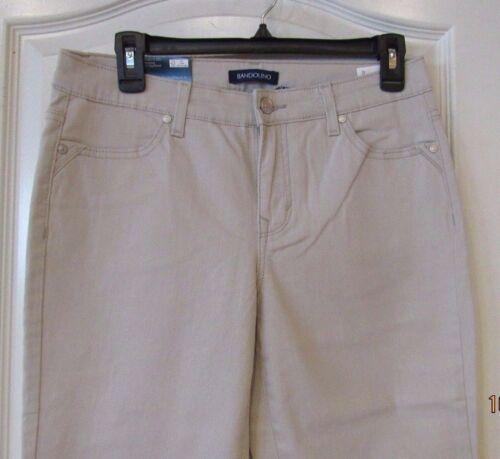 Bandolino Karyn Slim Boyfriend Jeans CREANSTONE Women/'s Sz 4-16 NWT MSRP$49