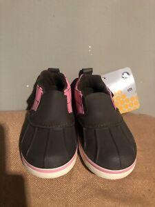 Kids Crocs Allcast Duck C9 Brown White