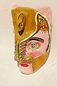 Ceremonial mask, hand made.