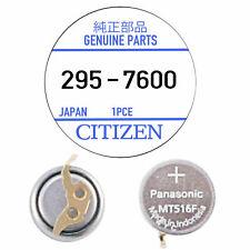 Citizen Eco Drive Pile Solaire Montre Panasonic MT516F Condensateur 295-7600
