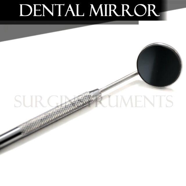 25 Dental Mirrors Stainless Steel Surgical Instruments