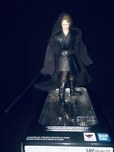 Bandai-S-H-Figuarts-Revenge-of-the-Sith-Anakin-Skywalker-Custom-Robe-USED