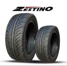 255/40ZR 17 x2 Zestino Gredge 07R Semi-Slick DOT racing tire