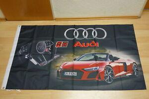 90 x 150 cm Fahnen Flagge Audi