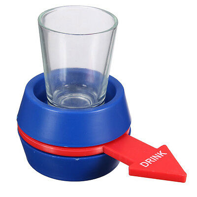 New Spinner Spin The Shot Glass Drinking Game Fun Party Gift Cup