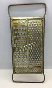 Vintage-Grater-Aluminum-All-in-One-Super-Grater-10-1-2-x4-1-2