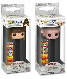 HARRY POTTER Harry Potter S1 - New PEZ Dispenser Funko POP Sorting Hat