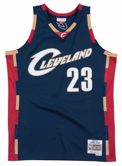 6638496ad Cleveland Cavaliers Lebron James Mitchell   Ness Swingman Jersey S