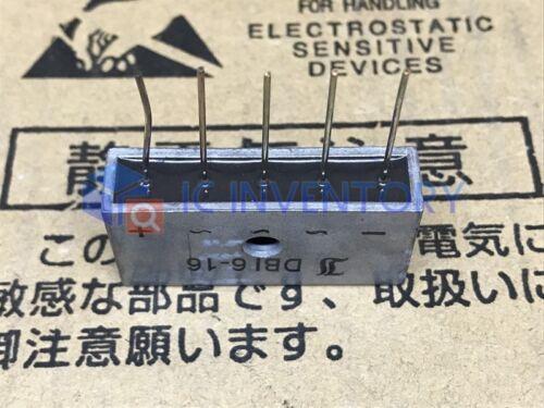 1PCS DBI6-16 Encapsulation:ZIP-5,Three-Phase Si-Bridge Rectifiers
