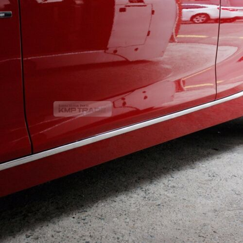 Flexible Chrome Edge Molding Window Sill Side Door Scuff 5meter For All Vehicle