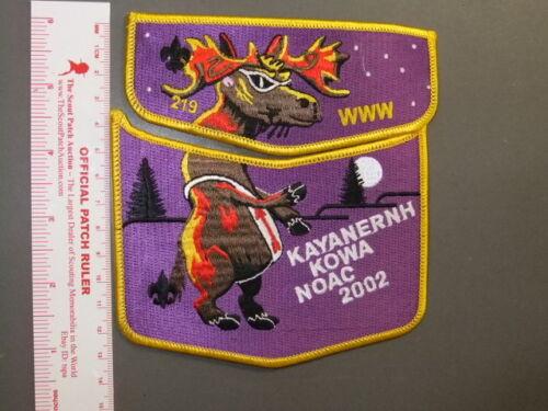 Boy Scout OA 219 Kayanernh Kowa two piece 3395W