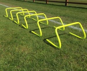 Set-of-6-Agility-Hurdles-9-034-Football-Speed-amp-Agility-Training-UK