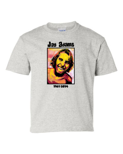 Jay Adams T-ShirtSkateboard LegendTribute T Shirt