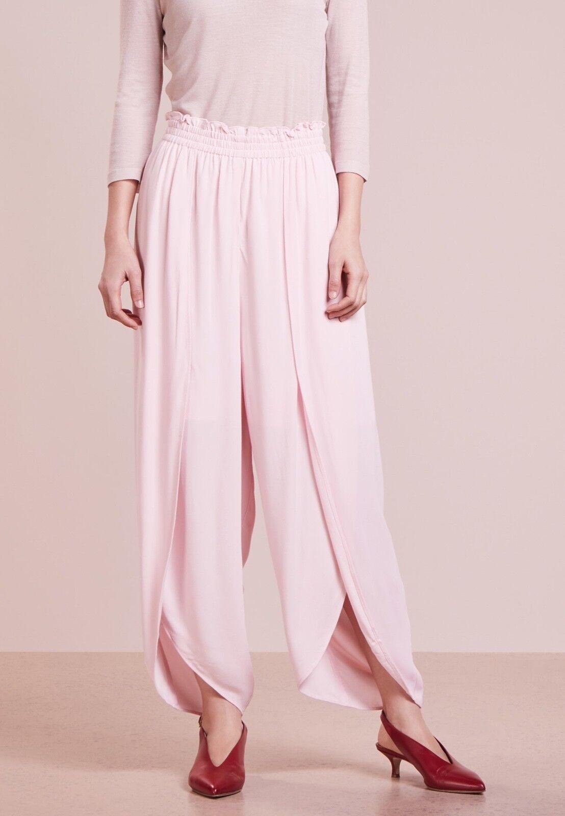 Designers Remix Charlotte Charlotte Charlotte Eskildsen Kate Cate Pants Pantaloni rosa UK10 EU38 69ab56