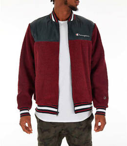 CHAMPION SHERPA BASEBALL JACKET MEN'S US SIZE 2XL STYLE ...