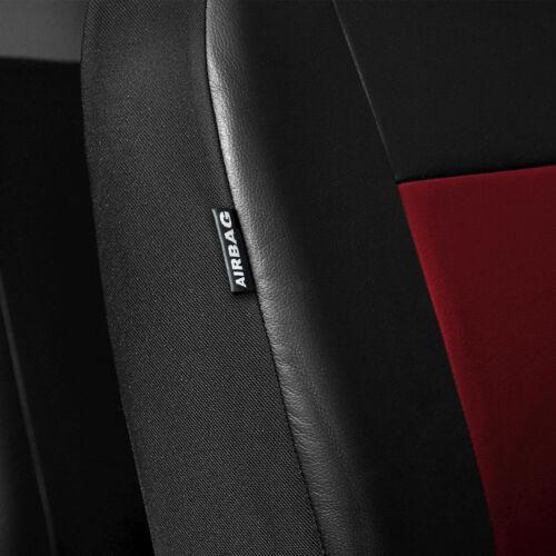 Mitsubishi Space Star Rot Universal Sitzbezüge Sitzbezug Auto Schonbezüge COMFOR