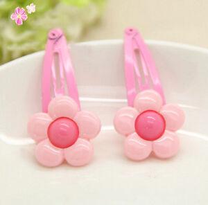 2PCS-Beautiful-Cute-Baby-Pink-Flowers-Baby-Girl-Children-Hair-Pin-Clips-EFJ3LP8