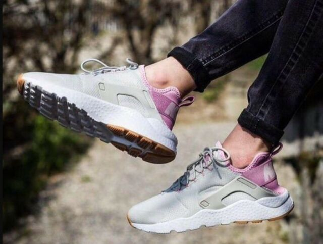 636c1f08386f Nike Air Huarache Run Ultra Womens 819151-009 Bone Orchid Running ...