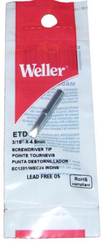 Weller ETD Solder Soldering Tip fits Stations WES51 WESD51 2-PACK PES51 iron