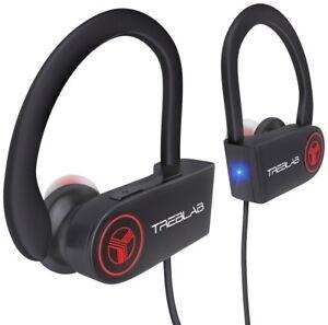 TREBLAB-XR100-Wireless-Earbuds-Noise-Cancelling-Bluetooth-Headphones-Sport-Black