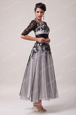 DE Gut verkaufen!Luxus Damen Lang Abendkleid Ballkleider Festkleid Cocktailkleid