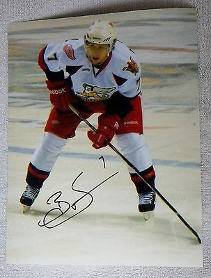 Detroit Red Wings Brendan Smith Auto Grand Rapids Griffins 8x10 Photo