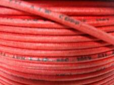 10FT Vintage Cloth Western Electric Wire Classic Telephone Red 14Awg Stranded