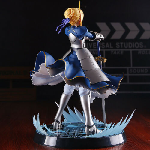 Fate//Stay Night FGO Saber Action Figure Figurine PVC Anime Model Toy Gift 24cm