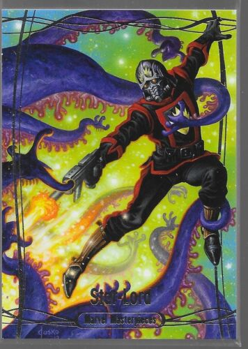 2016 UD Marvel Masterpieces Star-Lord //1499 41