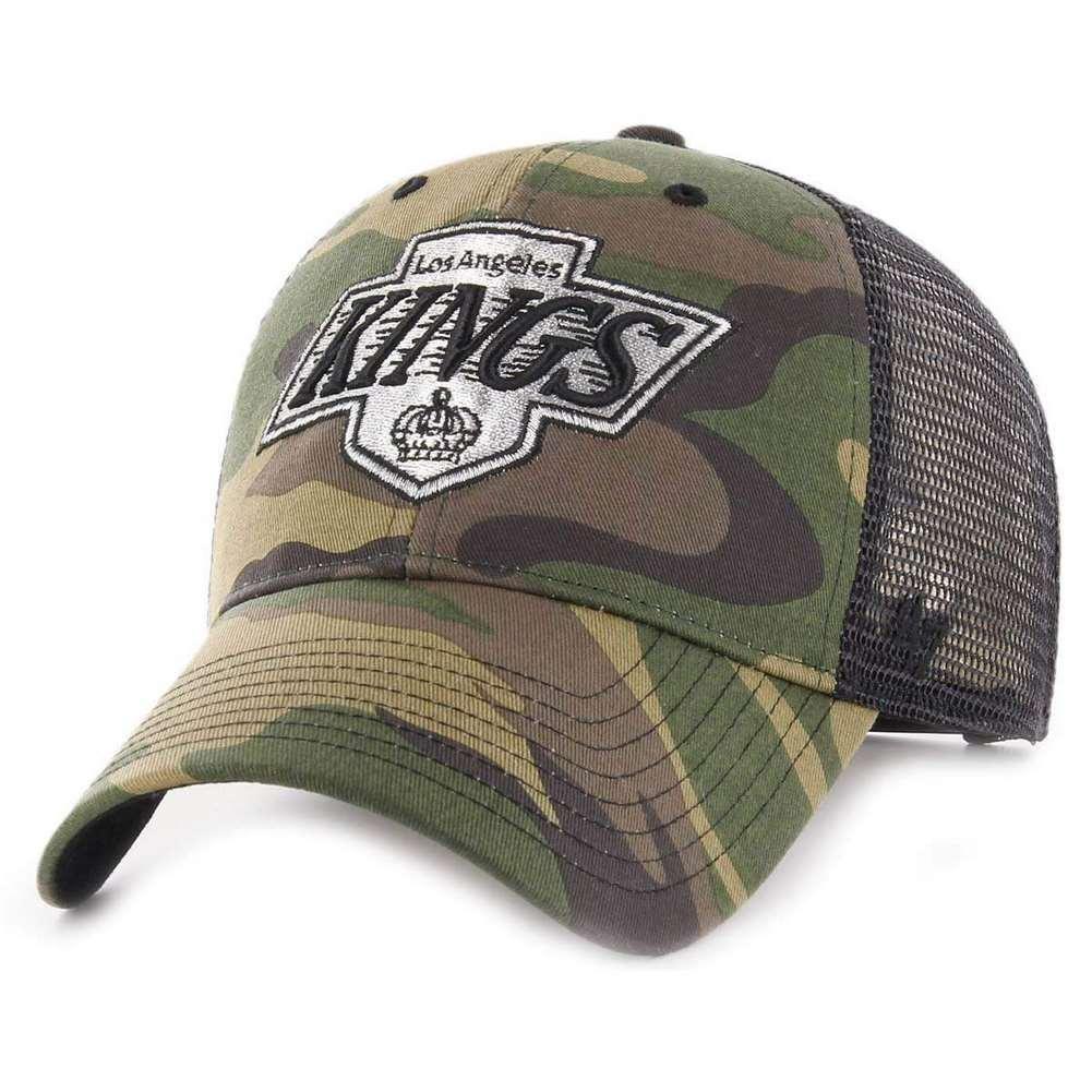 HVIN-CBRAN08GWP-CM67 47 Los Brand Cap – Nhl Los 47 Angeles Kings Mvp Trucker Camo Bran 58c518