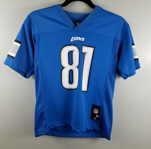 New Calvin Johnson #81 Detroit Lions Youth Football Jersey Size Youth  hot sale